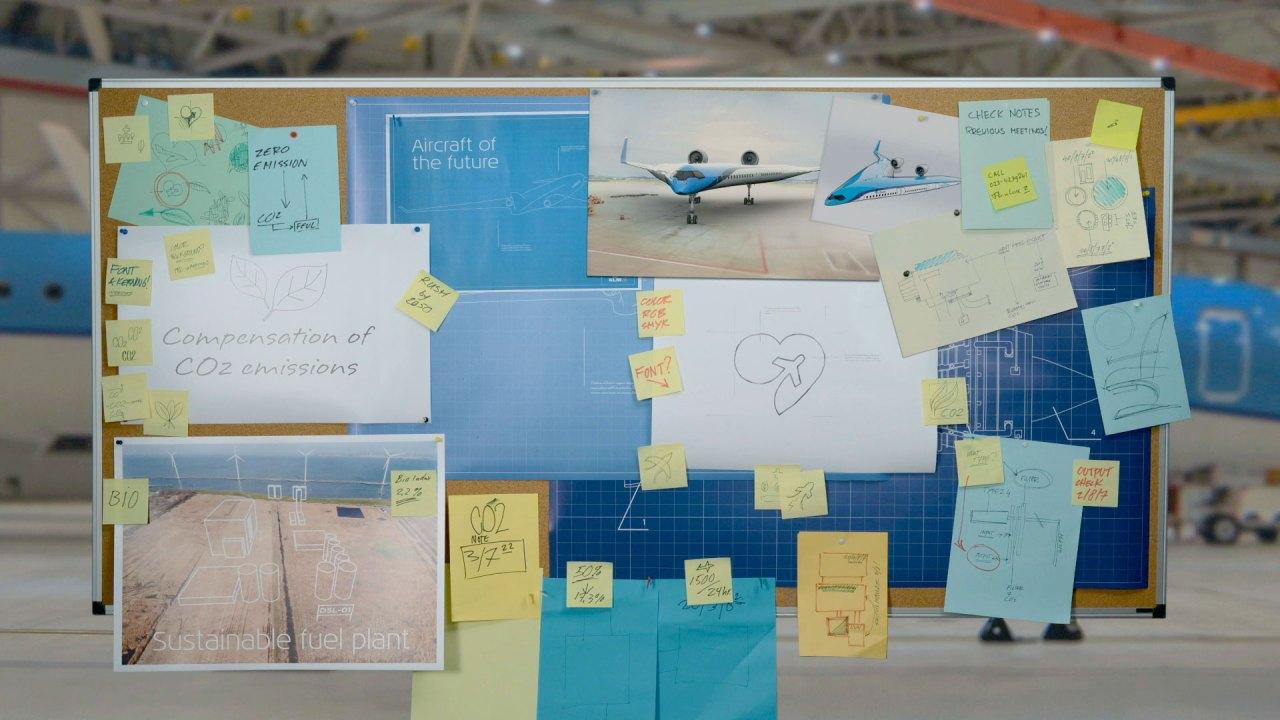 Imagen promocional de la campaña KLM Fly Responsibly (Foto: KLM Royal Dutch Airlines)