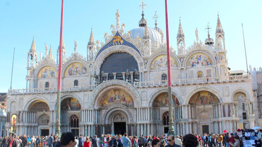 Basilica di San Marco en Venecia, Italia, número 4 entre las ciudades más hermosas