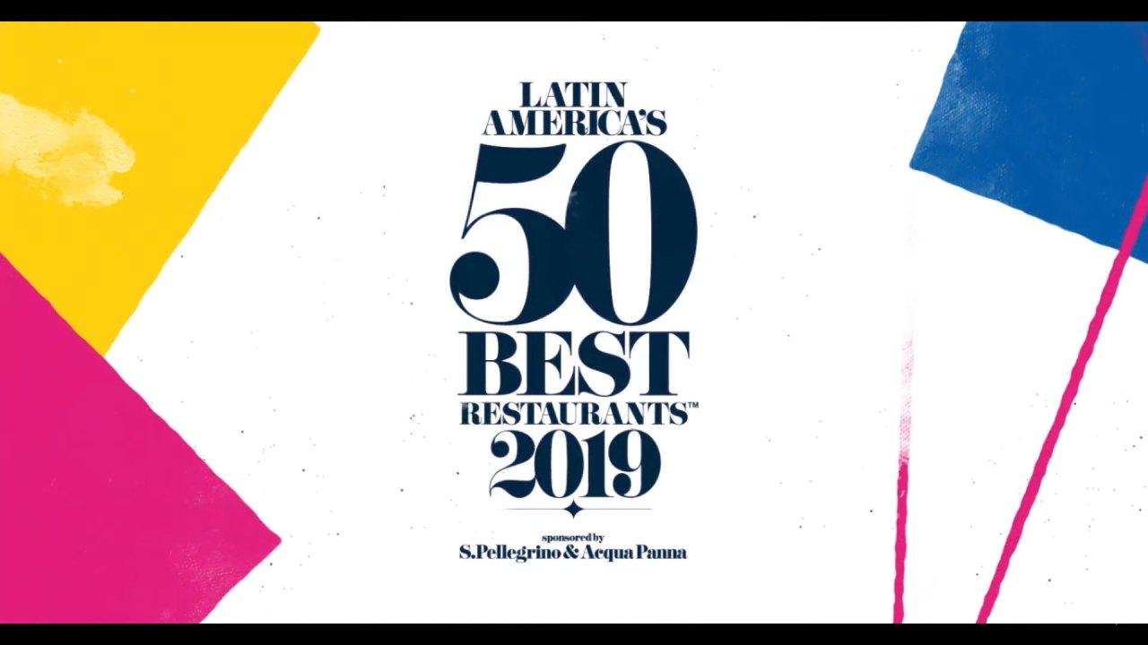 La premiación Latin America's 50 Best Restaurants 2019 fue celebrada en Buenos Aires, Argentina