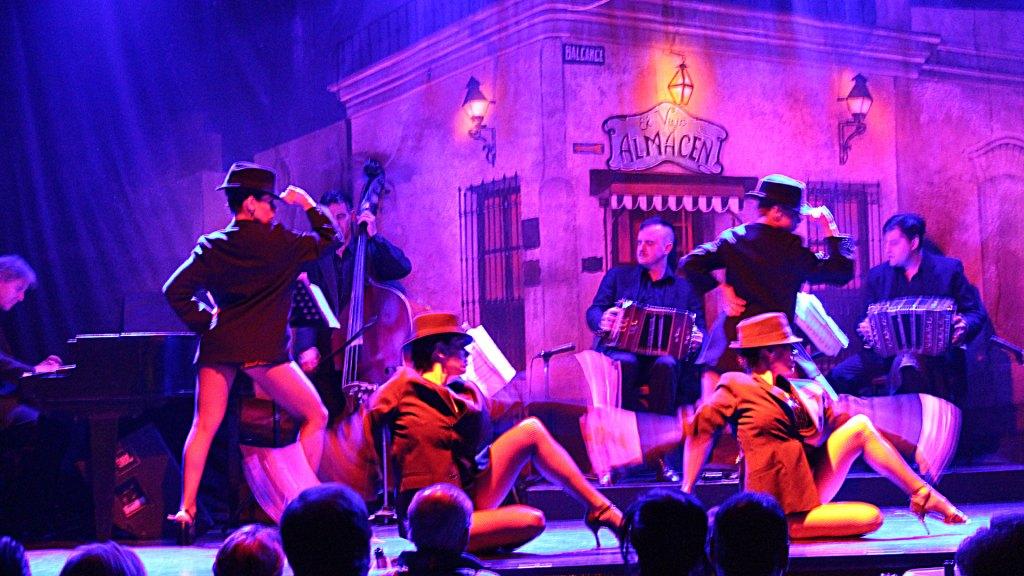 Espectáculo de tango de El Viejo Almacén