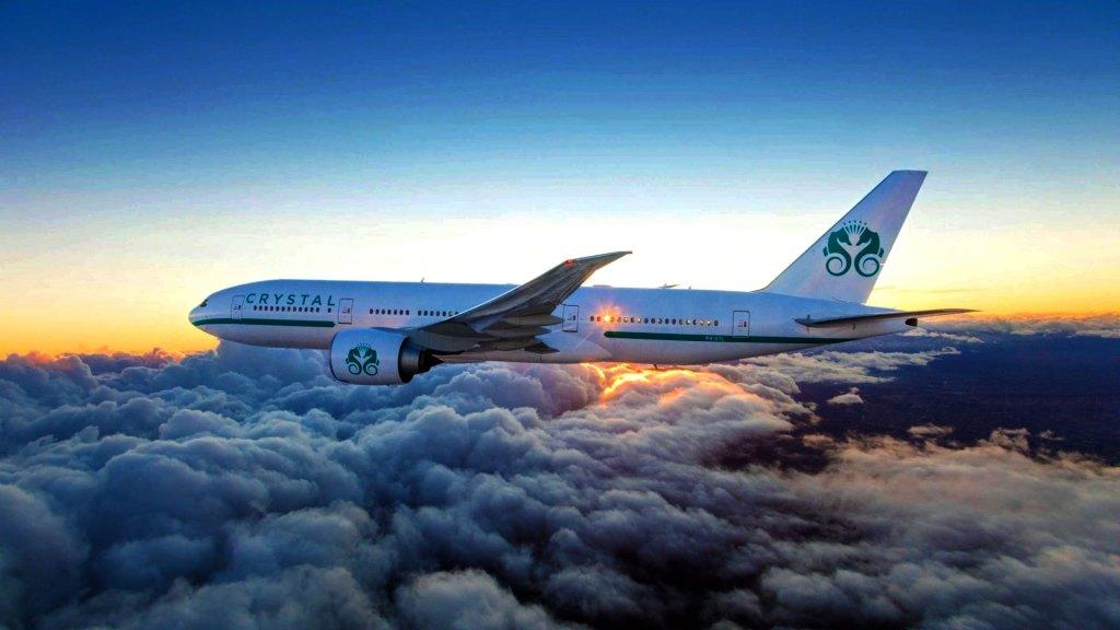 El crucero aéreo Boeing 777 de Crystal Skye te permite asistir a las celebraciones de Año Nuevo en dos grandes ciudades a la vez