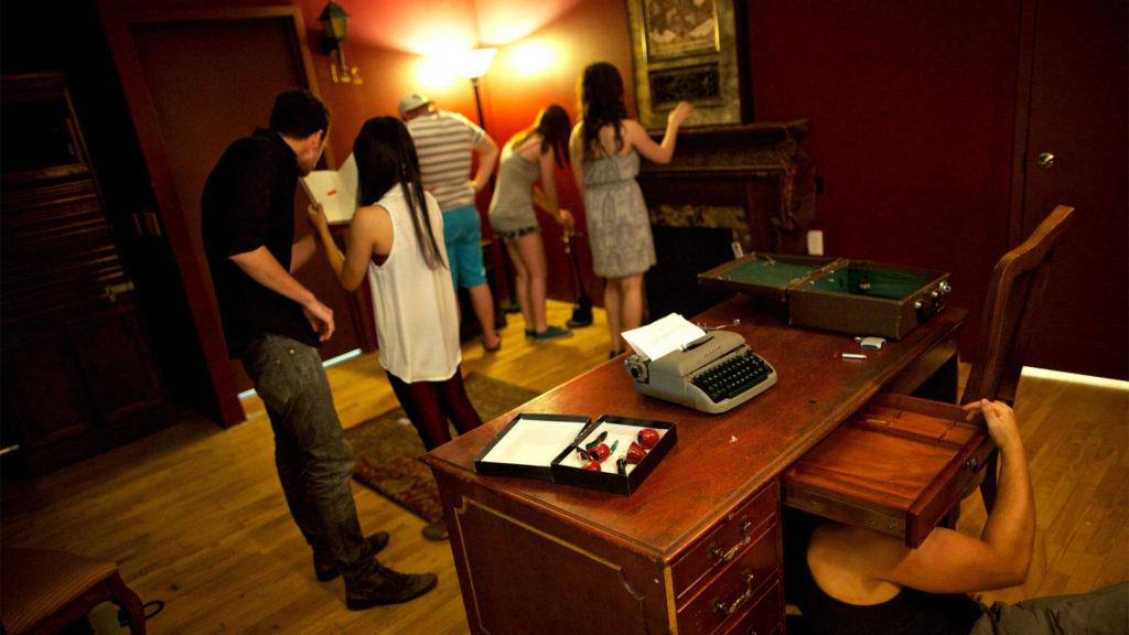 Escape rooms are popular entertainment options that fit nicely with the theme of New Year's Eve