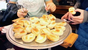 Muestra de empanadas del restaurante