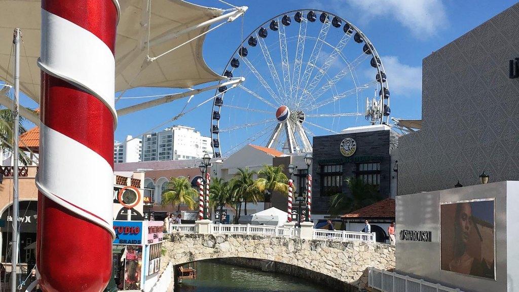 Noria en La Isla Cancún Shopping Village
