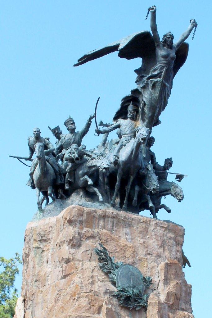 Monumento del Cerro de la Gloria, Ciudad de Mendoza