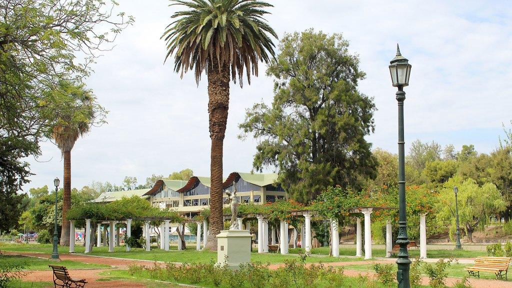 Detalle del Parque Gral. San Martín