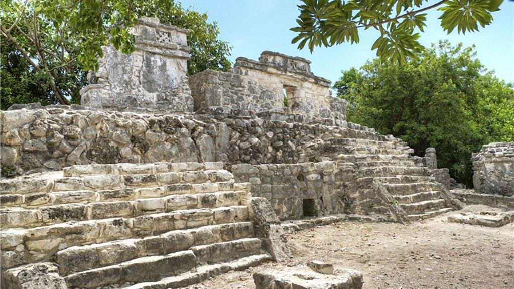 Ruinas en Xcaret (Foto/Source: Grupo Xcaret)