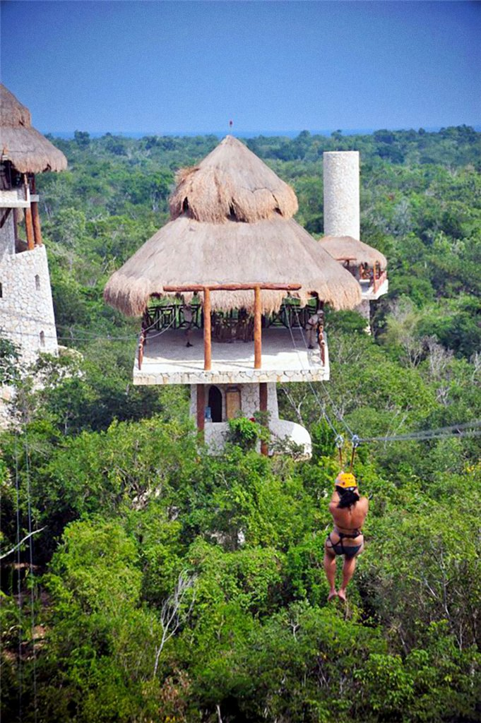 Tirolesa o zip line