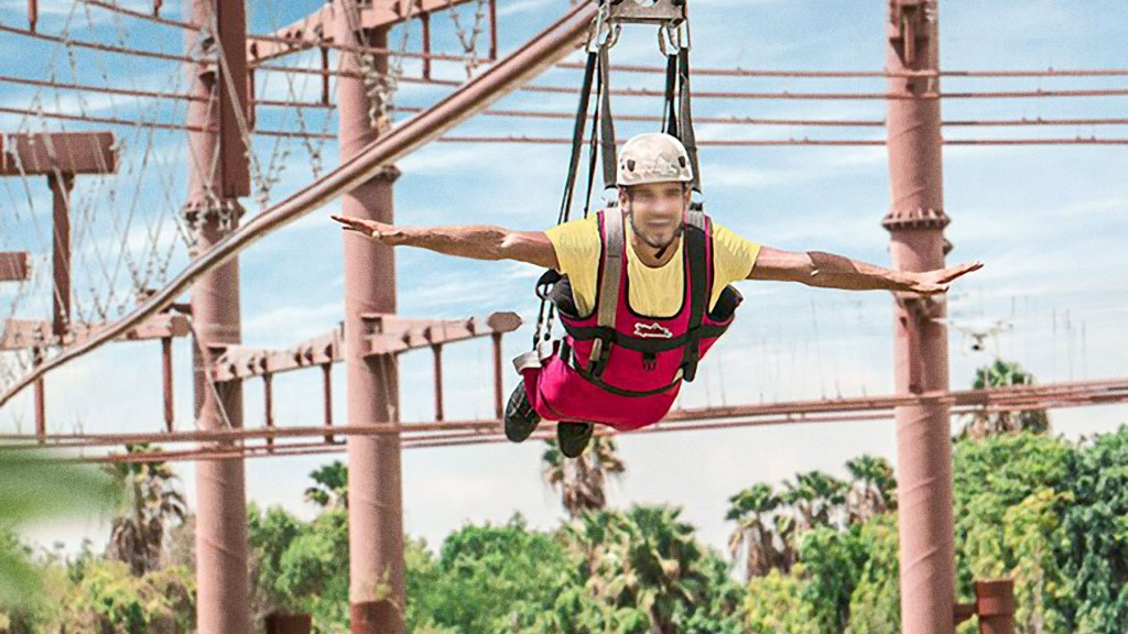 Tirolesa o Zip Line Xavage (Foto/Source: Grupo Xcaret)