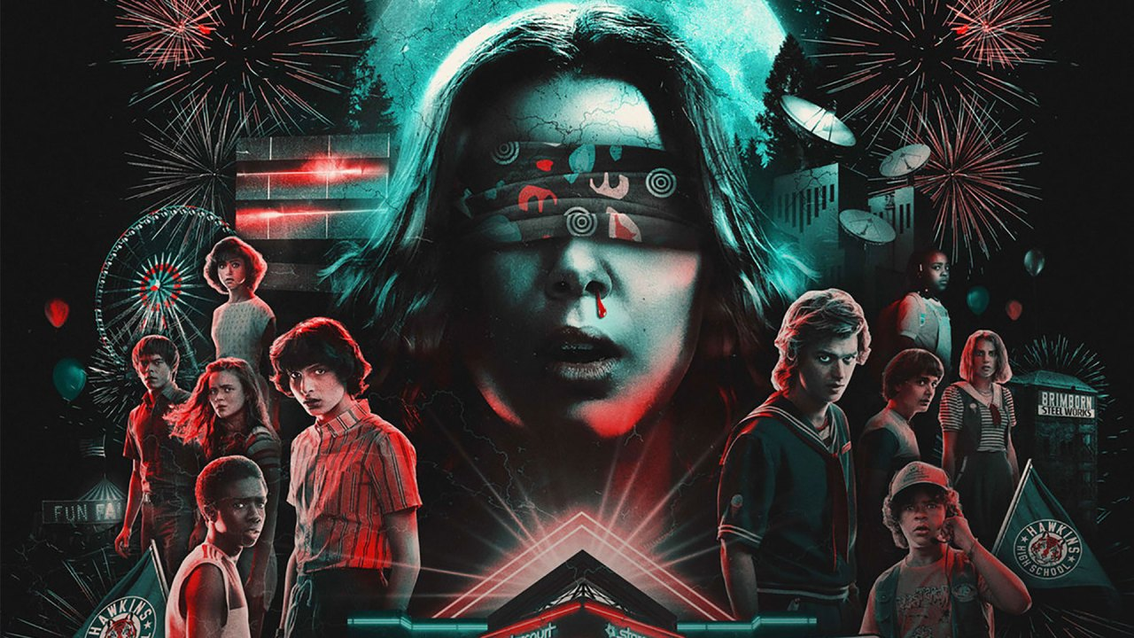 'Stranger Things: The Drive-Into Experience'   Arte promocional   Promo Art (Foto/Source: Netflix)