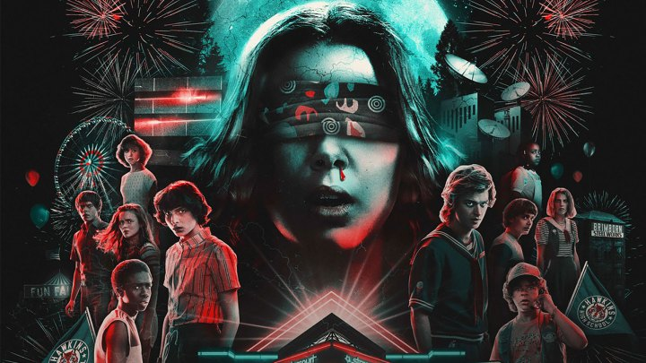 'Stranger Things: The Drive-Into Experience' | Arte promocional | Promo Art (Foto/Source: Netflix)