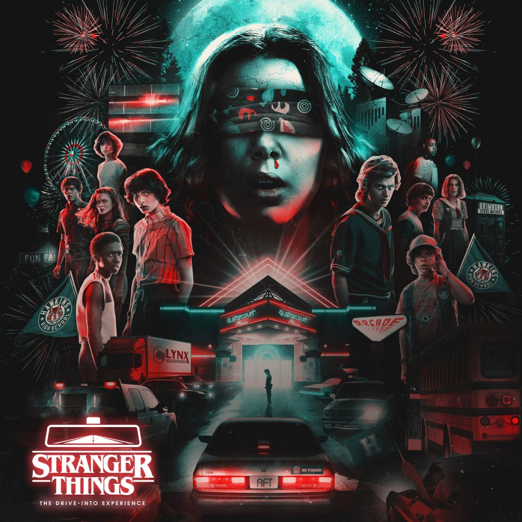'Stranger Things: The Drive-Into Experience' Logo