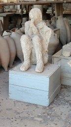 Cuerpo en yeso de Pompeya | Pompeii plaster body cast