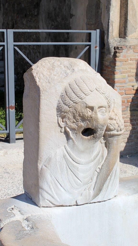 Fuente en Pompeya | Fountain in Pompeii