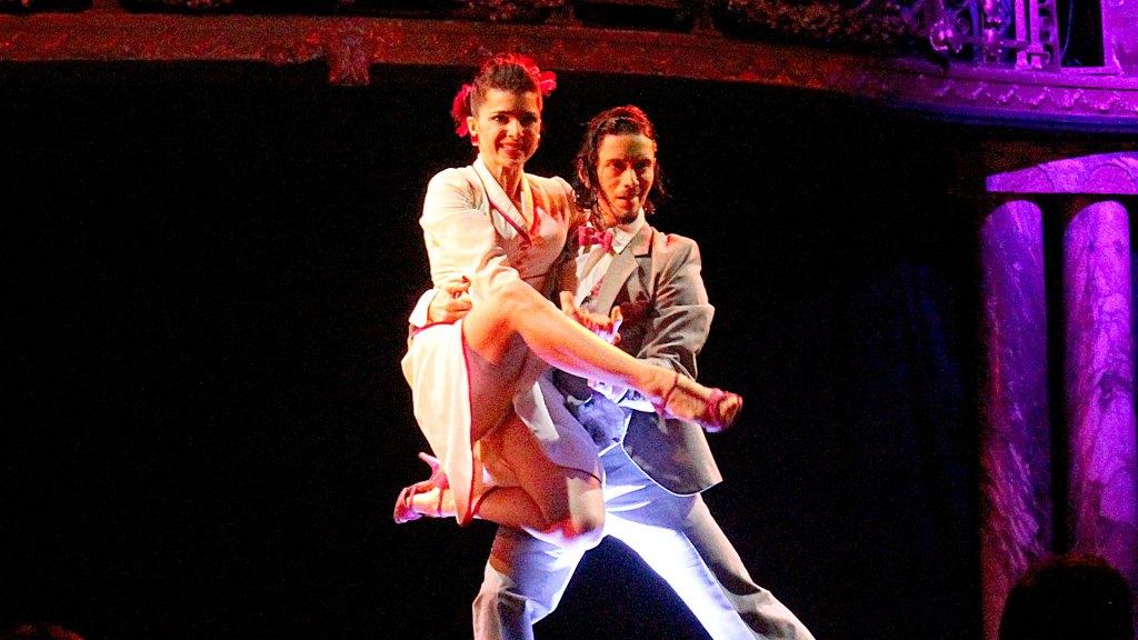 Bailarines de Palacio Tango