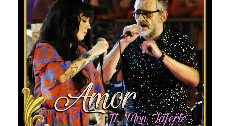 Amor Ft. Mon Laferte single adelanto de Los Auténticos Decadentes: MTV Unplugged es un boom