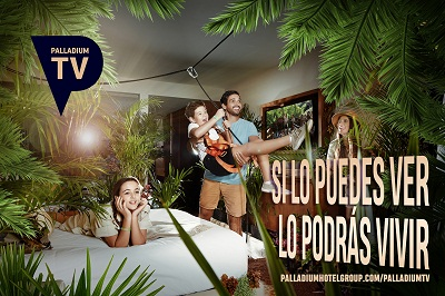"""Palladium Hotel Group lanza Palladium TV para viajar por sus destinos""."