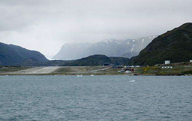 Aeroporto de Narsarsuaq – Groenlândia