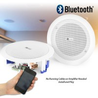 Flush Ceiling Speakers 60W Wireless Bluetooth Audio ...