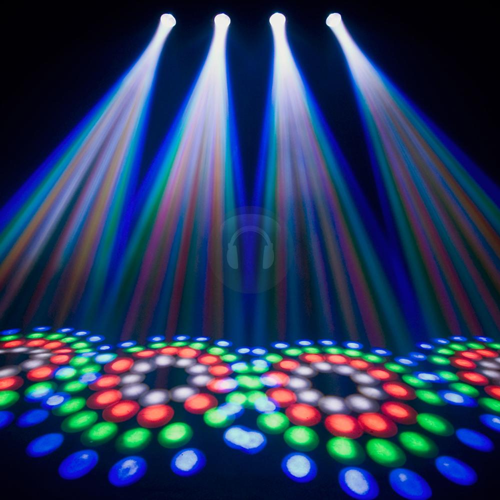 Chauvet 4PLAY Super Bright RGB LED DMX DJ Disco Light  eBay