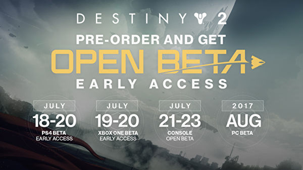 Destiny 2 Beta Preloads Begin Now