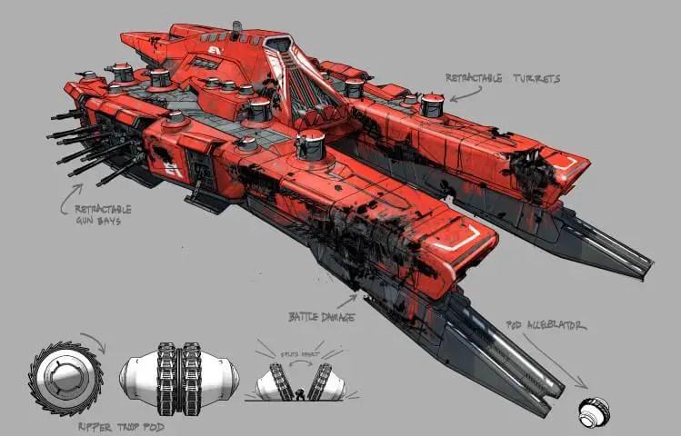 Destiny 2 Red Legion Concept Art