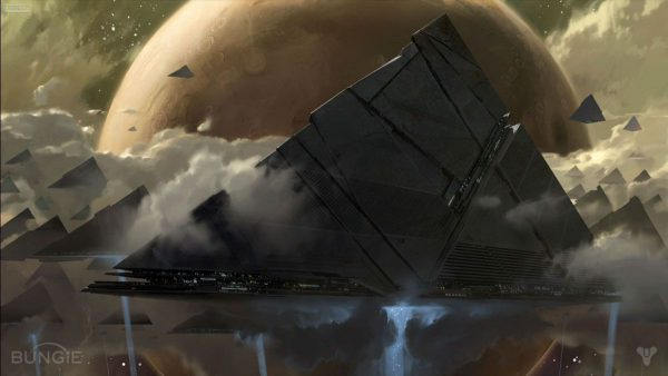 The Mysterious Darkness in Destiny 2 Concept Art