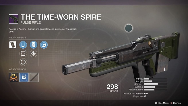 Is The Time-Worn Spire The Best Iron Banner Weapon In Destiny 2?