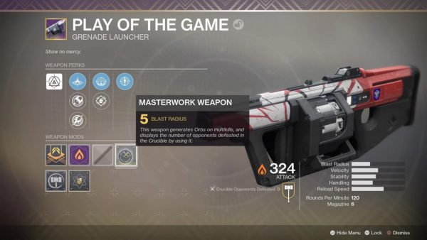 How Masterworks Weapons Work in Destiny 2