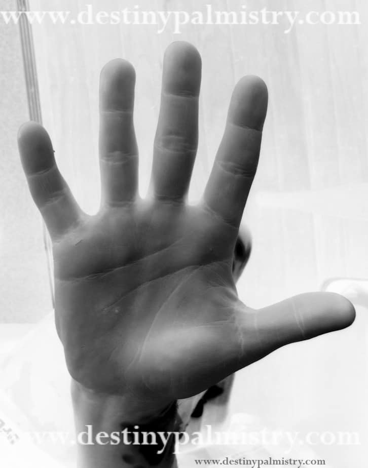 earth hand, skin texture