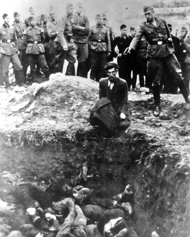 """The-last-Jew-in-Vinnitsa""-–-Member-of-Einsatzgruppe-D-a-Nazi-SS-death-squad-is-just-about-to-shoot-a-Jewish-man-kneeling"