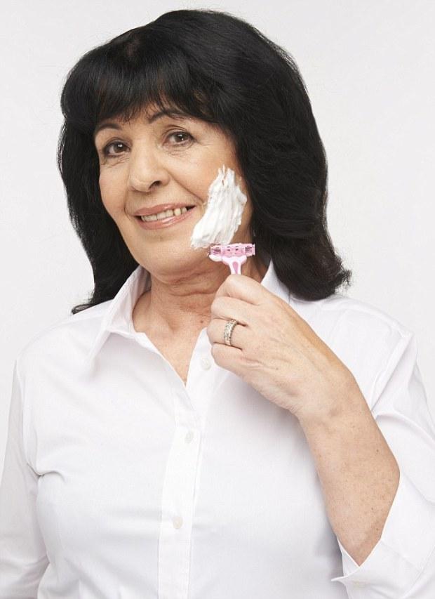 03.02.15, FeMail, Face Shave Women, Gillian Jamieson, Photography Natasha Pszenicki