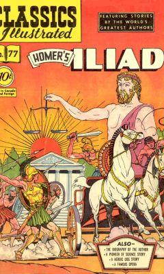 cover of the illiad #1 comic