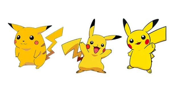 pikachu evolution design change