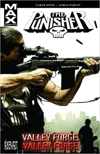 cover to valley forge valley forge punisher comic