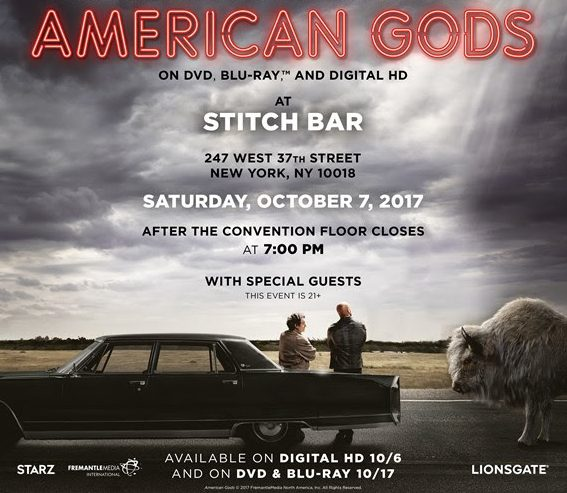 american gods promo for party