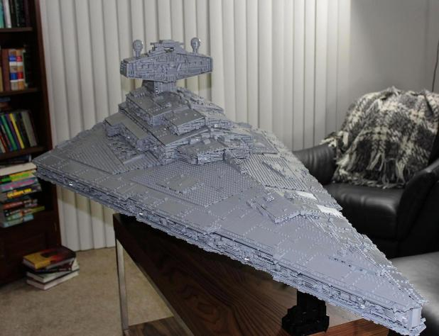 LEGO® Star Wars™ Imperial Star Destroyer Tyrant - Work in Progress