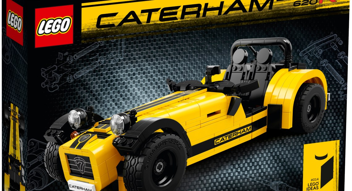 LEGO IDEAS 21037 Caterham Seven 620R