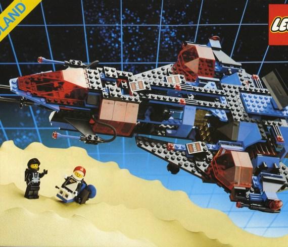 #RETROLEGO - Lego Mission Commander 6986