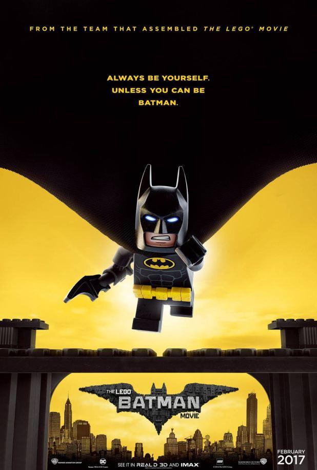 Nuovo poster per The LEGO Batman Movie