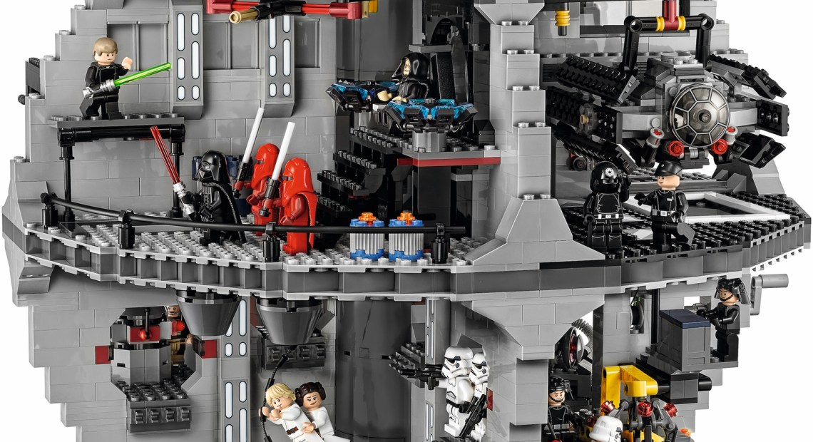 LEGO Death Star 75159 - Super Smooth stop motion build