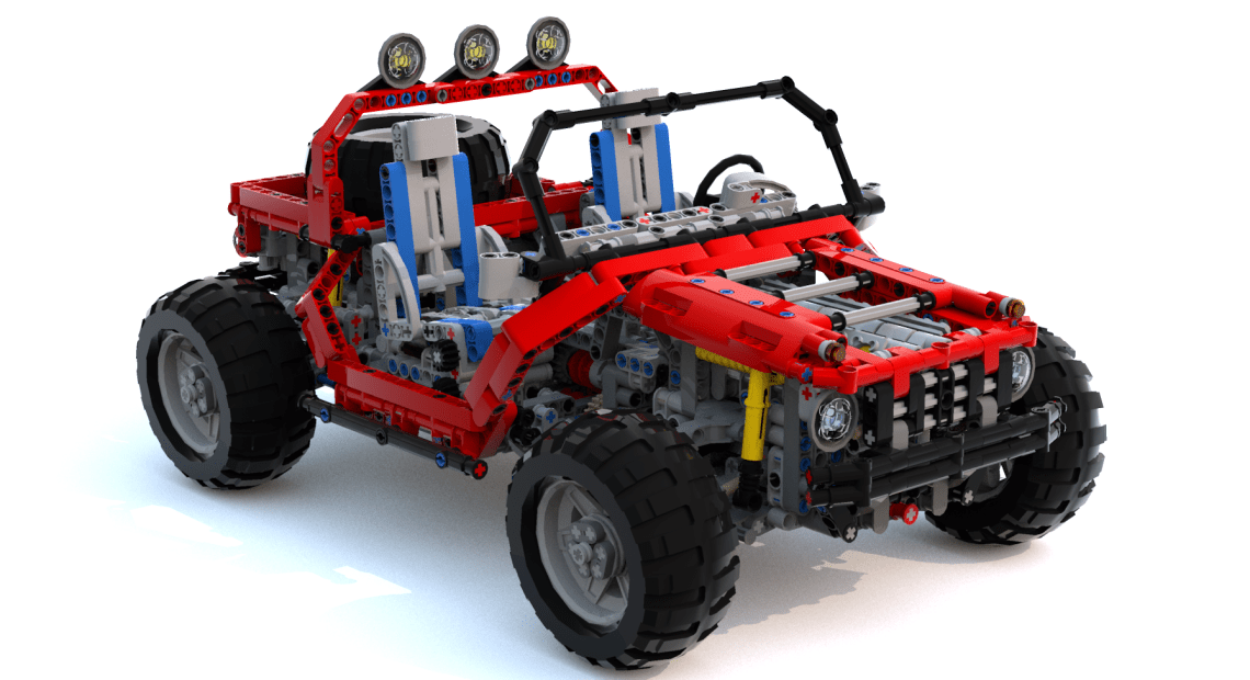 Steppenwolf MOC LEGO created by Didumos