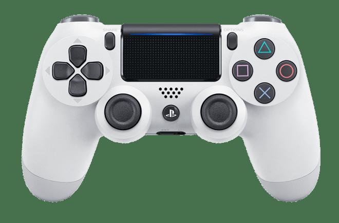 Il nuovo DualShock 4 nella colorazione 'Glacier White'