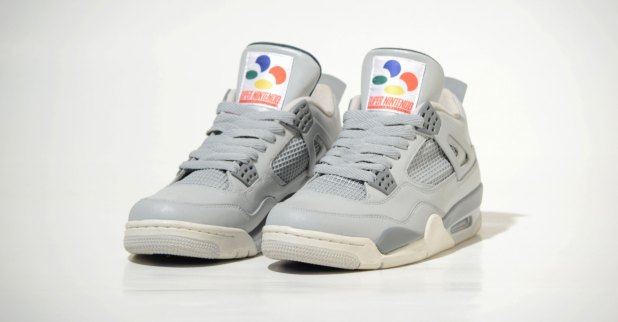 Air Jordan 4 SNES edition