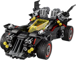 LEGO Ultimate Batmobile 70917 - TimeLapse