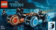 LEGO Ideas 21314 Tron Legacy - ufficializzato
