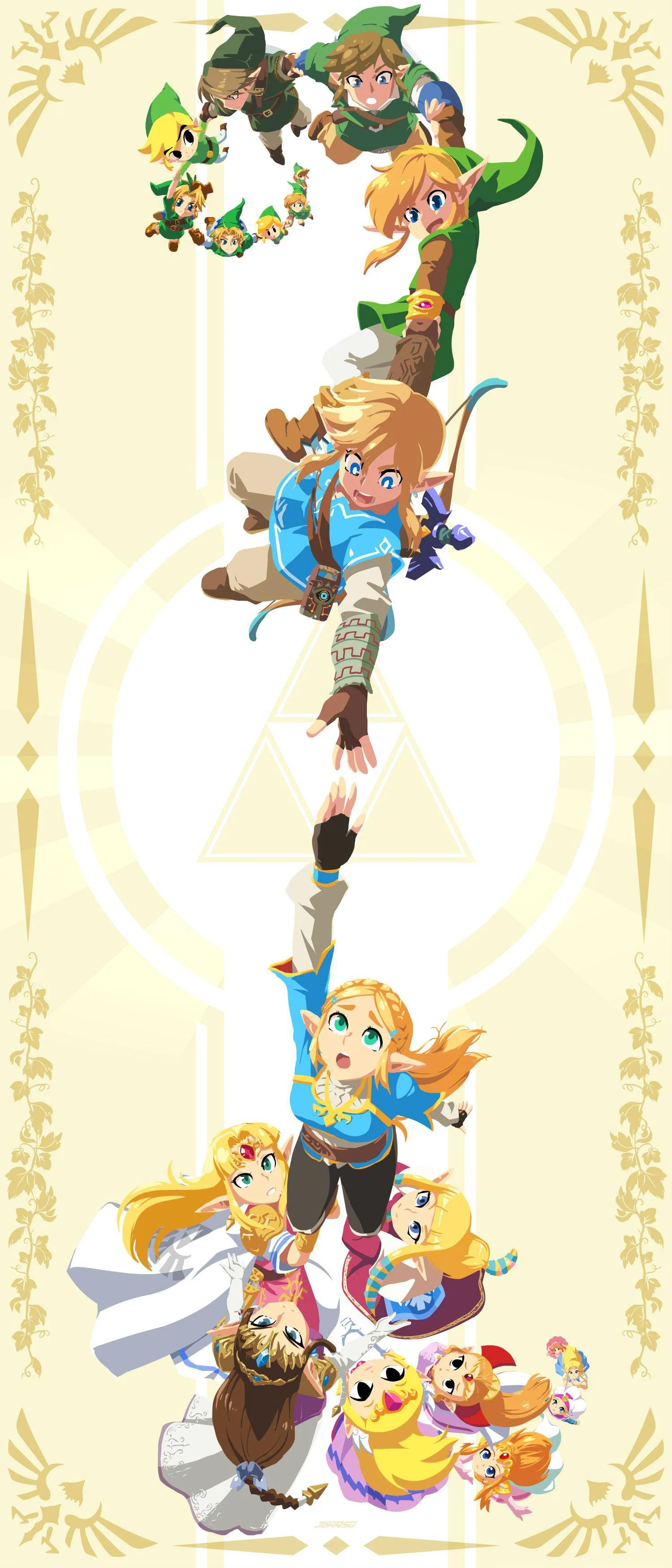 Link (the Legend Of Zelda) : legend, zelda), Legend, Zelda, Featuring, Generations, Stunning