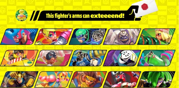 The next Smash Ultimate character is from Arms, will be released in June screenshot