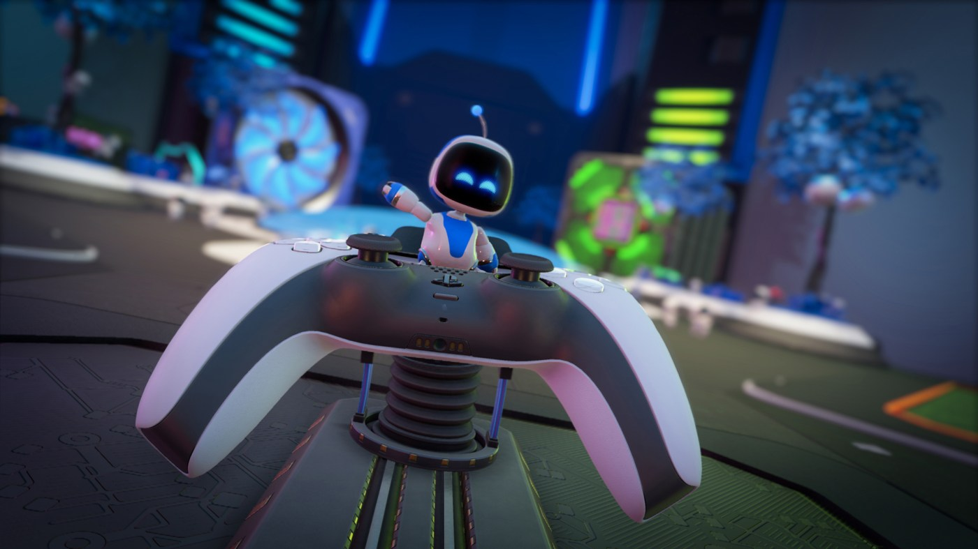 Astro's Playroom looks like more of a good thing on PS5