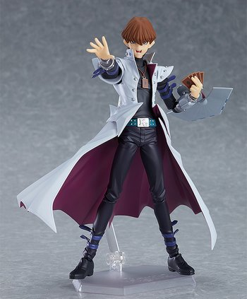 different types of anime figures, yugioh, figma, kaibaseito, anime figure